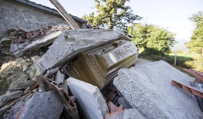 Terremoto Amatrice edifici