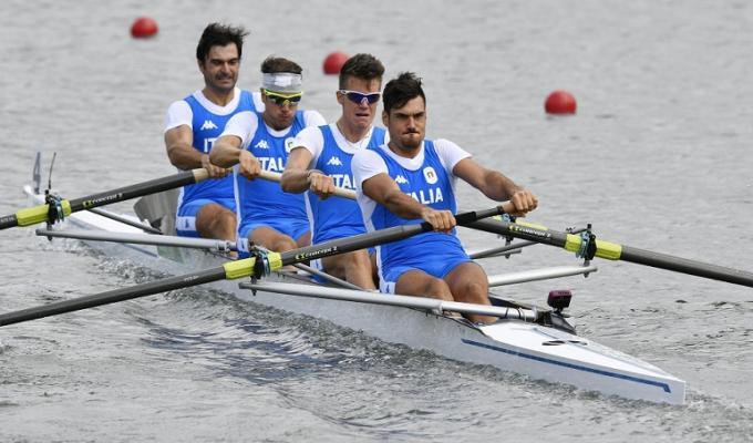 canottaggio olimpiadi rio 2016