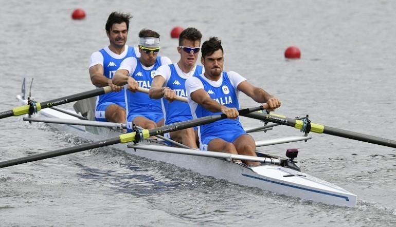 Castaldo, Lodo, Montrone e Vicino vincono il bronzo del 4 senza