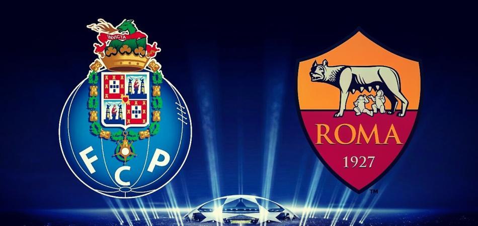 stasera in tv porto roma champions league