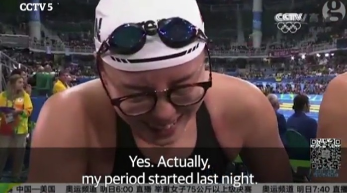 olimpiadi mestruazioni