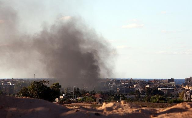 isis raid libia
