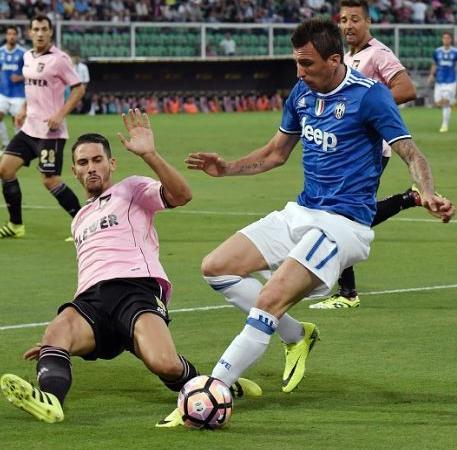 Palermo-Juventus 0-1 video gol e highlights