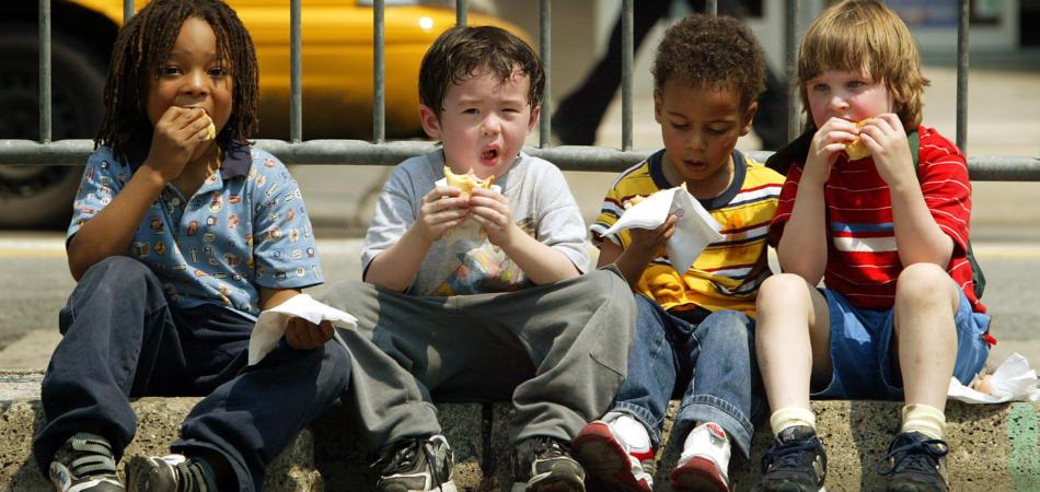 merende salutari per bambini