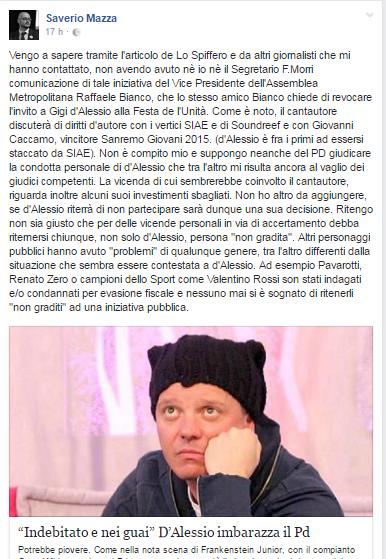 Gigi D'Alessio PD