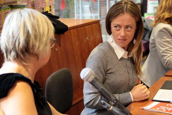 Giorgia Meloni e Andrea: (neo) genitori di Ginevra