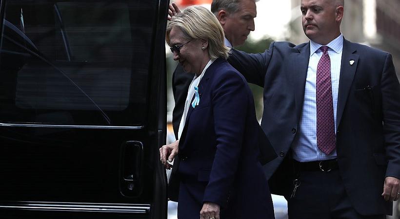 Hillary Clinton polmonite