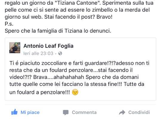 Selvaggia Lucarelli Tiziana Cantone