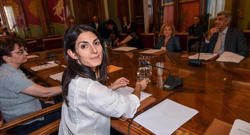 Virgina Raggi assessore Bilancio Roma