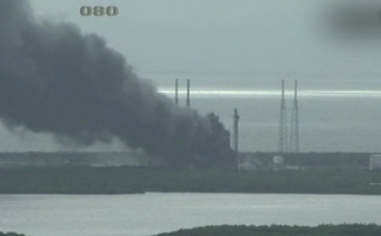 SpaceX: missile Falcon 9 esplode in Florida durante alcuni test