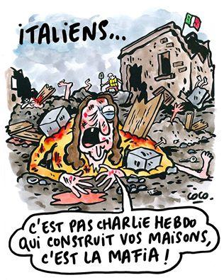 Charlie Hebdo vignetta risposta