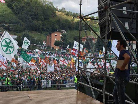 Pontida 2016: Matteo Salvini diretta streaming