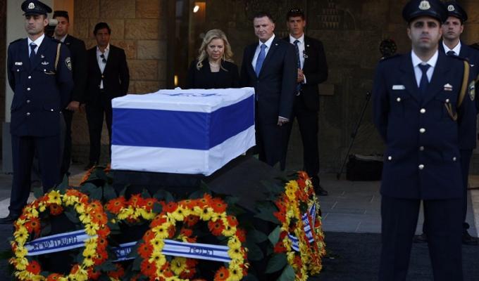 Shimon Peres funerale