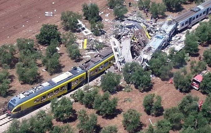 strage treni puglia