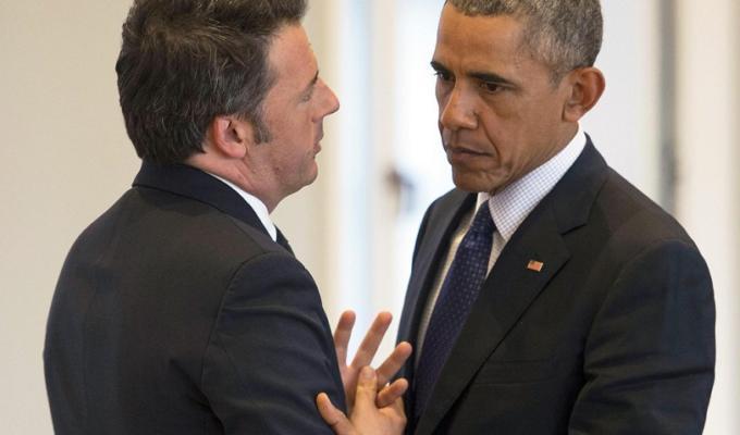 Barack Obama Matteo Renzi