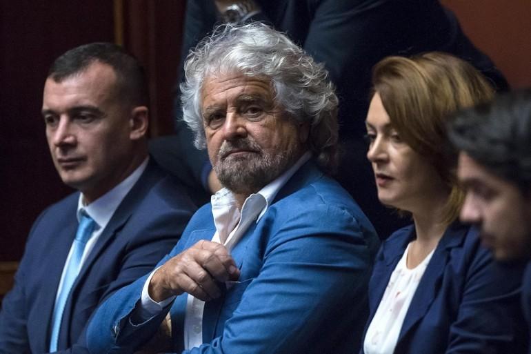 Beppe Grillo in Campidoglio: Virginia è una macchina da guerra