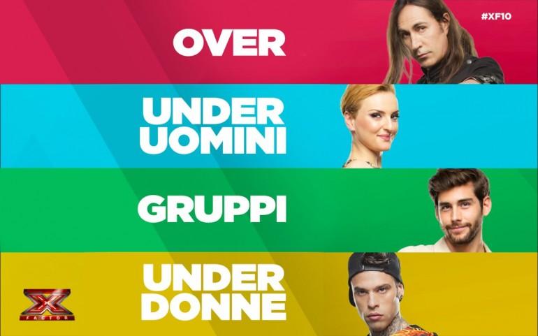 X Factor 10 concorrenti