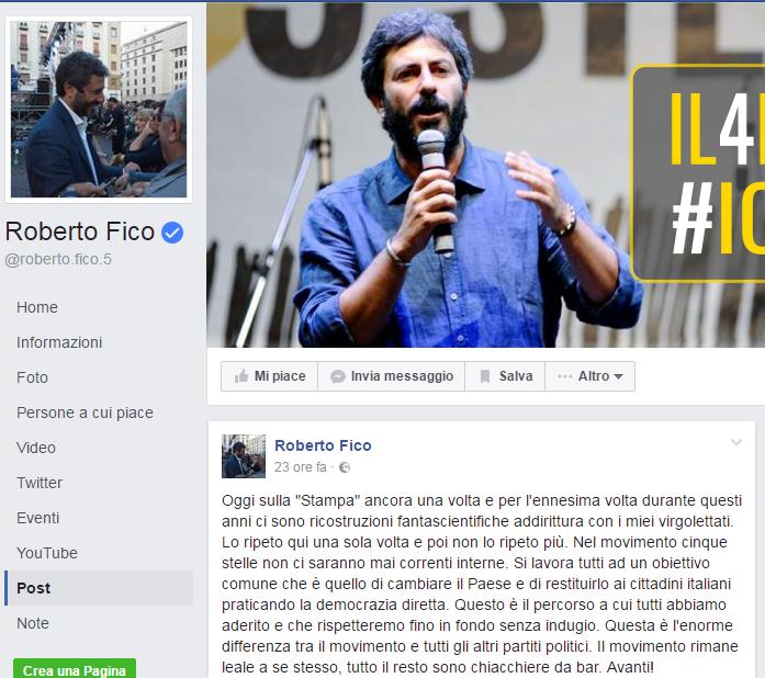 Beppe Grillo Luigi Di Maio rivolta