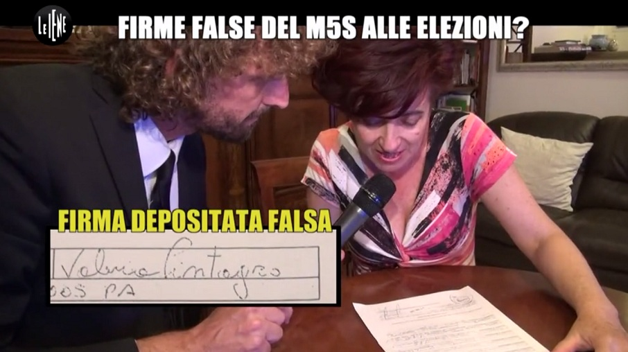 Palermo, vertice in procura su firme false M5S$