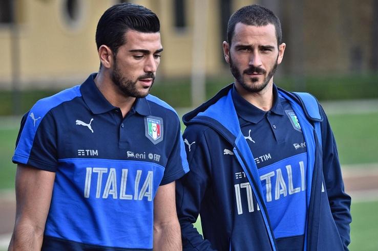 Italia, Bonucci parla del figlio e si commuove