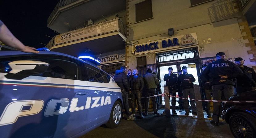 ordigno Roma polizia