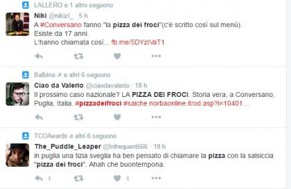 pizza dei froci