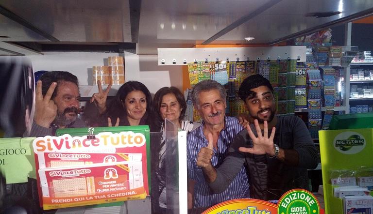 Superenalotto: esce il 6 da 163 milioni in Calabria