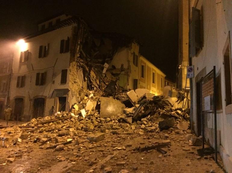 Terremoto Oggi | Castelsantangelo sul Nera | Marche ...