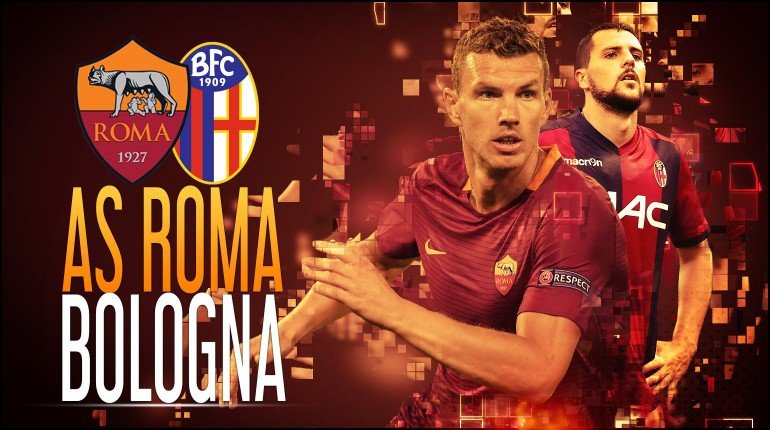 Roma-Bologna 3-0 | La tripletta di Salah schiaccia gli arrendevoli emiliani