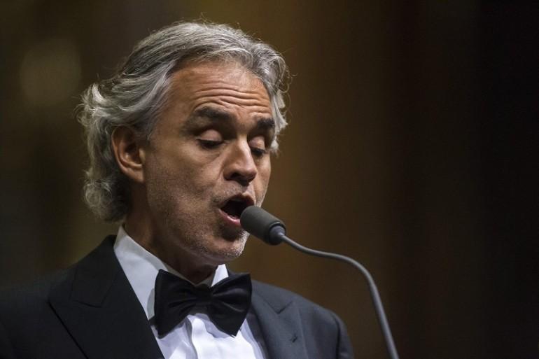 Bocelli non canterà all'insediamento di Trump