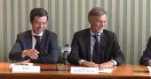 Fuorionda, Delrio e Orlando scherzano: «Niente domande, come in Svizzera…»| VIDEO
