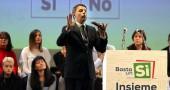 Matteo Renzi sempre più convinto : «Il Sì vincerà bene, l'aria sta cambiando»
