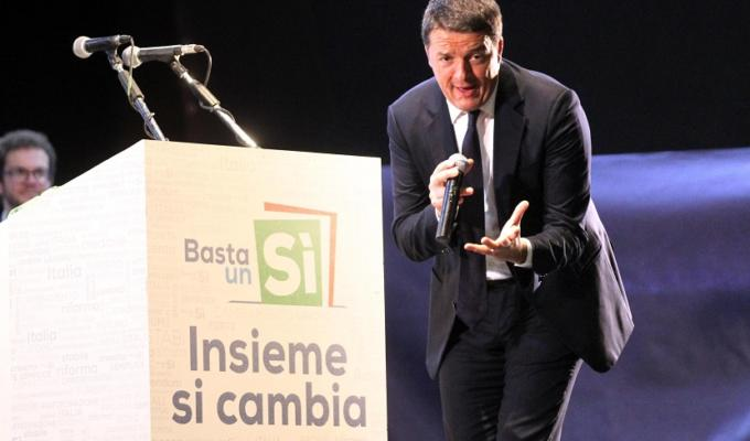 Matteo Renzi vittoria Sì