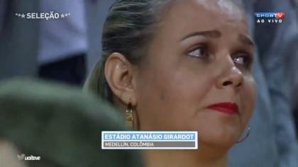 Chapecoense, il commovente tributo dello stadio di Medellin