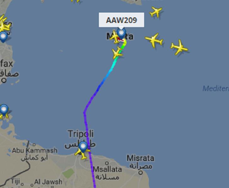 Terrorismo, dirottato aereo libico con 118 passeggeri a bordo