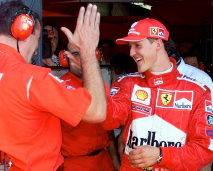 Michael Schumacher 3 anni dopo l'incidente
