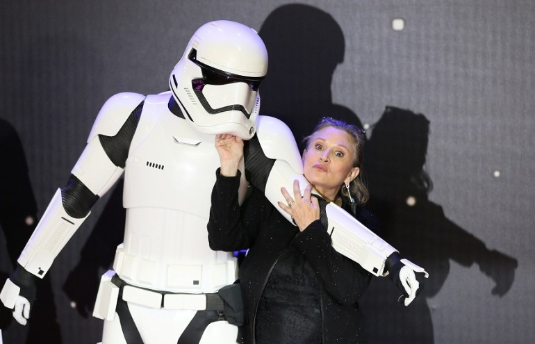 Risarcimento record per Disney dopo la morte di Carrie Fisher