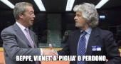 Grillo torna con Farage ma il leader dell'Ukip detta tre condizioni (tra cui la testa di David Borrelli)