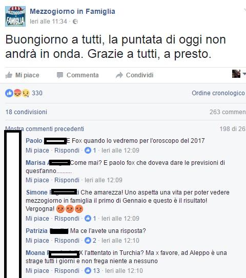 Paolo Fox 'oscura' Magalli: l'Oroscopo 2017 al posto de I Fatti Vostri