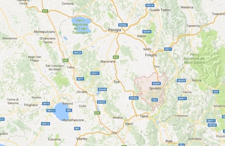 Un terremoto di magnitudo 4.1 ha colpito la provincia di Perugia
