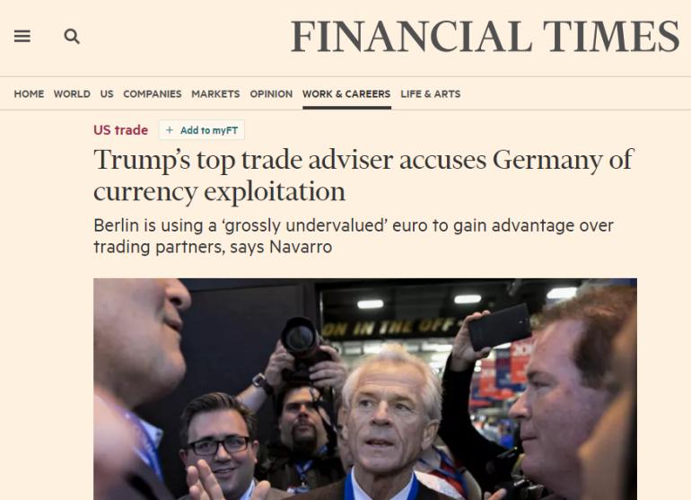 Trump euro