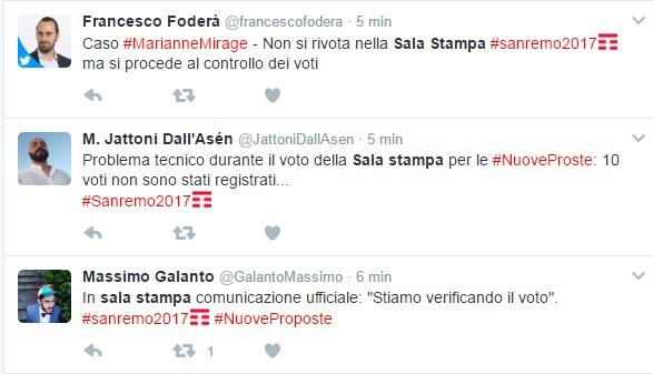 Sanremo: Guasti e Lamacchia primi finalisti tra le Nuove Proposte