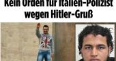 La polizia non replica alla Germania per il mancato premio ai poliziotti «fascisti»