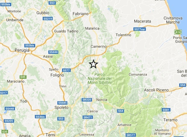 Nuove forti scosse di terremoto tra Umbria e Marche