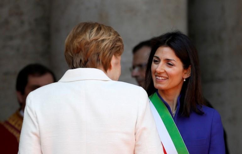 Trattati di Roma, Merkel a Raggi: