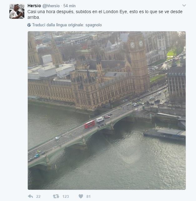 attentato londra london eye