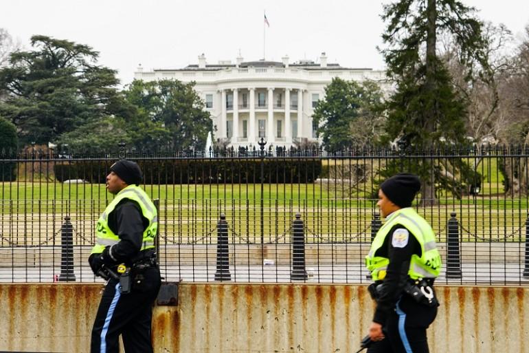 allarme bomba alla casa bianca