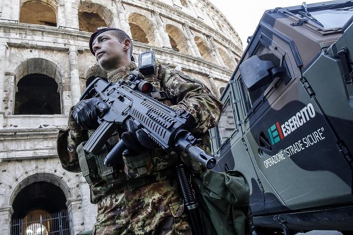 Trattati di Roma 2017, Cortei di Protesta: Mappa Strade Chiuse