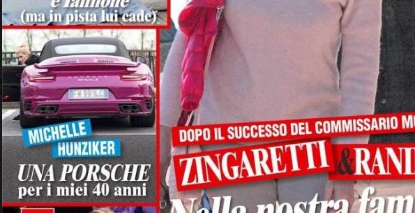 Michelle Hunziker: una Porsche fucia, il regalo di Tomaso