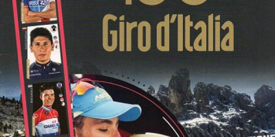 Giro 100 album Panini